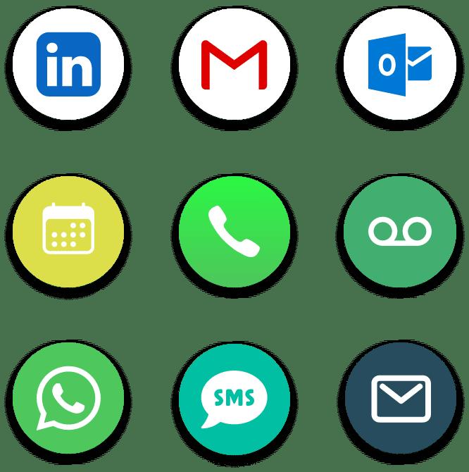 centraliser messageries